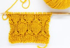 Knit the hexagon mesh pattern - free knitting instructions Baby Knitting Patterns, Knitting Stitches, Motif Hexagonal, Hexagon Pattern, Easy Knitting, Knitting For Beginners, New Stitch A Day, Knit Basket, Cable Knit