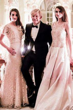 Addy van den Krommenacker with his models