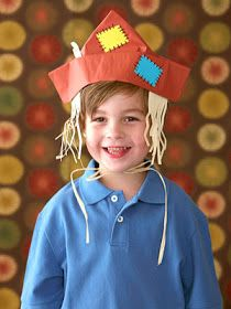 From The Hive: scarecrows -preschool style