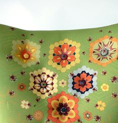 queen bee chair - a peculiar grace upholstery collaboration with textile designer Katie Wallis