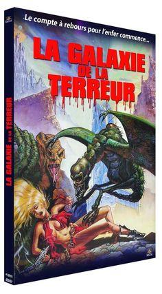 La Galaxie de la terreur (1981) - DVD Galaxy of Terror