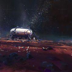 ArtStation - Astroneer, Habitat, John Wallin Liberto
