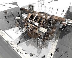 Highlines of New York; Chelsea School of Aerial Arts  Adam Shapland  2012