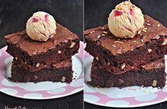 Dondurmalı Brownie Kek