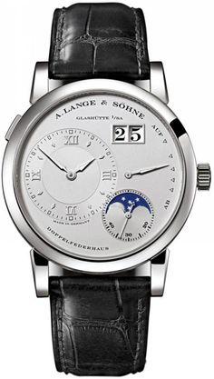 A.Lange and Sohne 109.025 Lange 1 Moonphase - белые - швейцарские мужские наручные часы