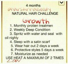 Natural Hair Challenge