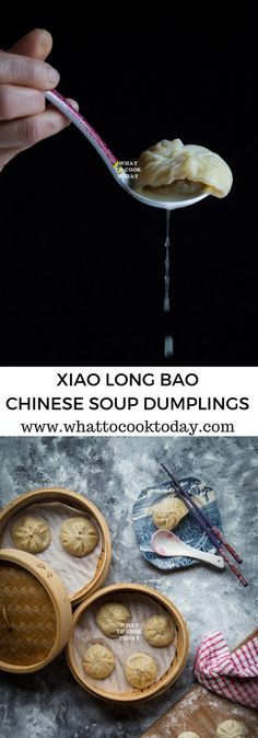 How to make Xiao Long Bao / Shanghai Soup Dumplings. Delicious Xiao Long Bao / Shanghai Soup Dumplings recipe. Click through for full recipe and step by step instructions