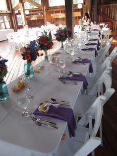 The Red Barn - Colors for a Summer Wedding