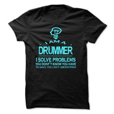 i am a DRUMMER T-Shirts, Hoodies. Check Price Now ==► https://www.sunfrog.com/LifeStyle/i-am-a-DRUMMER-28546695-Guys.html?41382