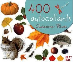 Amazon.fr - 400 autocollants automne-hiver - Play Bac - Livres