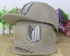 Attack On Titan Snapback Baseball Anime Hat www.OtakuForest.com