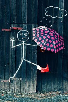 Piove e son contento!
