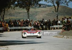 Andrea de Adamich of Italy drives the Autodelta SpA Alfa Romeo T33/3 during the World Sportscar Championship Targa Florio race on 3rd May 1970 at the...