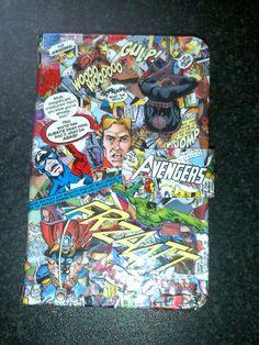 Marvel Avengers iPad Mini Kindle Case Handmade by PegstarDesigns, £12.00
