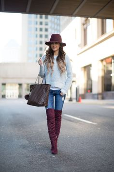 Burgundy Accents. | Mia Mia Mine