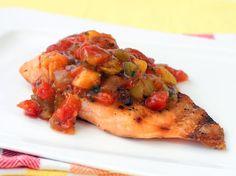 Salmon a la parrilla - Recetas de salmon en salsa |Quericavida.com
