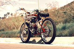 motorized bicycle 4 DMB Speedster by Wolf Creative Customs