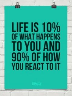 So very true. I have learned not to act before i think. Think first and react second. Great Quotes, Quotes To Live By, Me Quotes, Motivational Quotes, Inspirational Quotes, Happy Quotes, The Words, Cool Words, What Happened To You