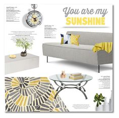 """you are my sunshine"" by limass ❤ liked on Polyvore featuring interior, interiors, interior design, home, home decor, interior decorating, Greta Grossman, Jaipur Rugs, Arteriors and Dot & Bo"