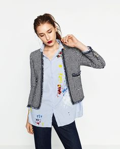 Image 2 of PRINTED JACKET from Zara