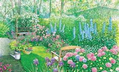 Zwei Ideen Für Einen Langen Schmalen Garten