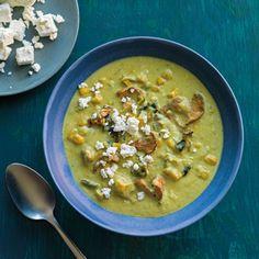Poblano Chile Soup Recipe | Williams Sonoma Taste