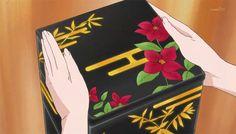anime, food, gif