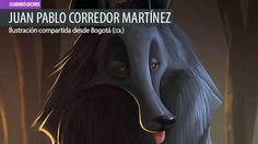 Ilustración. The Belgian Shepherd de Juan Pablo Corredor Leer más: http://www.colectivobicicleta.com/2015/07/ilustracion-de-Juan-Pablo-Corredor.html