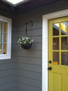 I absolutely love these exterior colors!
