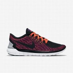 huge selection of 8b9c5 136d0  127.66 nike free 5.0 print,Nike Womens Vivid Purple Hyper Orange White Black  Free 5.0 Print Running Shoe