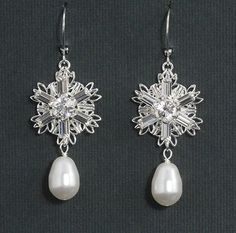 Snowflake Wedding Jewelry | ALL ABOUT HONEYMOONS & DESTINATION WEDDINGS Become our Facebook FAN ...