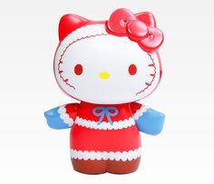 Hello Kitty Collectable Figurine: Santa