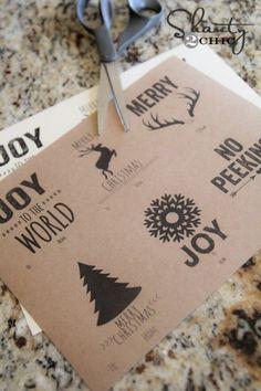 Free Gift Tags Printable