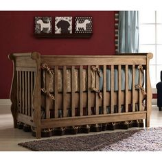 Graco Shelby Classic 4-in-1 Convertible Crib - Baby Cribs at Cribs. I am completely in love with this finish!!!!!