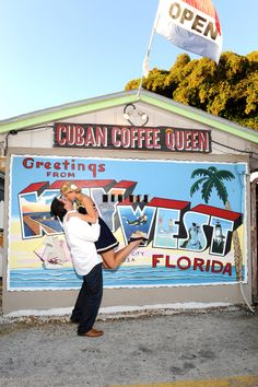 our favorite place for Cuban coffee in Key West!