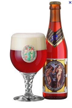 De Verboden Vrucht (the forbidden fruit) Made by Hoegaarden. My favorite beer that Hoegaarden brews.