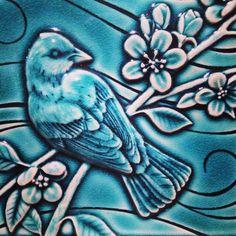 Rookwood Pottery ceramic tile