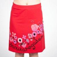 Comounaregadera Doce Rosas sukňa červená M