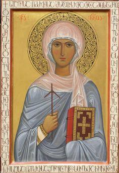 St. Nina of Georgia, Equal to the Apostles.jpg (308×450)