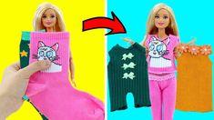 Barbie Et Ken, Barbie Mode, Barbie Dolls Diy, Diy Doll, Barbie Doll House, Sewing Barbie Clothes, Barbie Sewing Patterns, Doll Clothes Patterns, Clothing Patterns