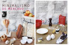 Revista Platos&Copas // cook&desing: Minimalismo de mercado