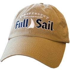 38986531c5dfb Top it off with the basic Full Sail ball cap. This low profile hat comes