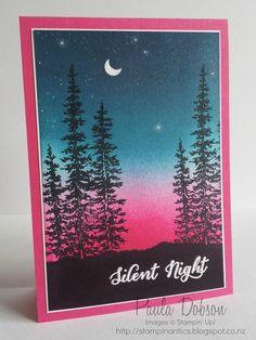Stampinantics: SILENT NIGHT, STARRY NIGHT