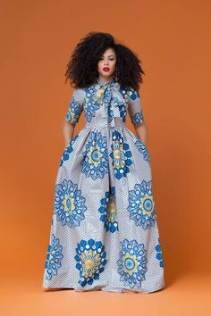 At Grass-fields we create contemporary African clothing to show off every shape of woman, in beautiful bold African print and an incredible fit. Latest African Fashion Dresses, African Print Dresses, African Dresses For Women, African Print Fashion, Africa Fashion, African Wear, African Attire, Style Africain, African Fashion Designers