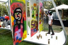 """Teen Art Park: A Place for Artistic Expression  """"Environmental design is significant to the Teen Art Park project because it deals with creating the conditions necessary for a wide range of people to engage a social issue through art and dialogue, in a community oriented space."""""""