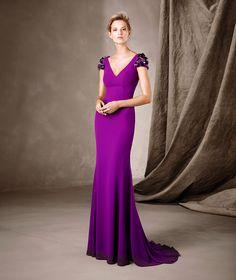 CECILIA - Vestido comprido estilo sereia Pronovias