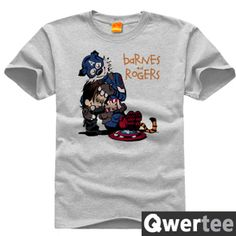 Kevin and Hobbes Calvin and Hobbes the tiger DIY T-shirt class service men and women plus fertilizer to increase 2- Taobao global Station