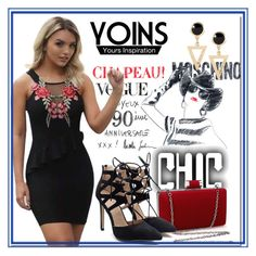 """Yoins#43"" by bamra ❤ liked on Polyvore featuring Moschino, yoins, yoinscollection and loveyoins"