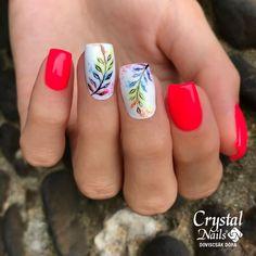 Ahora es mas fácil realizar sorprendentes decoraciones con AquaInk 🌿 www.crystalnailstienda.es Crystal Nails, Summer Feeling, Nail Art, Late Summer, Crystals, Leaves, Beauty, Decorations, Nail Arts
