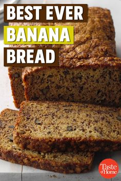 Our family's very favorite Banana Bread Recipe is EASY, moist, simply perfection! Look no further for a fool proof banana bread recipe. Banana Bread Recipes, Cake Recipes, Dessert Recipes, Desserts, Bread Machine Recipes, Best Nutrition Food, Nutrition Websites, Nutrition Store, Nutrition Articles